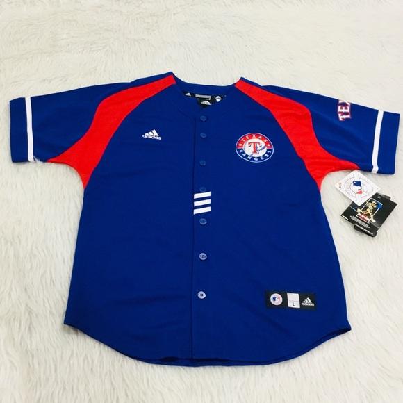 0ee5ce16ed25 Adidas MLB Texas Rangers  17 Cruz jersey